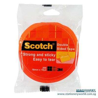 3m Scotch 200 Double Sided Tape 18mm X 10 Yards