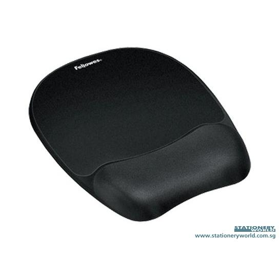 Fellowes Memory Foam Mouse Pad Wrist Rest F91758